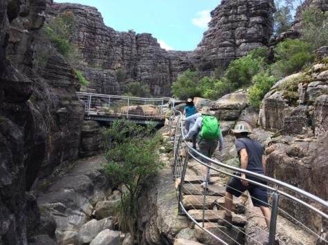 Grampians tourist trail, Grand Canyon.