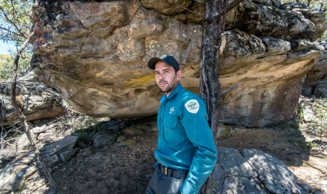 SMH Rediscovered rock art reveals an ancient monster