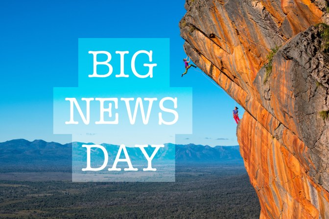 Big News Day – Climbers in the Public Eye