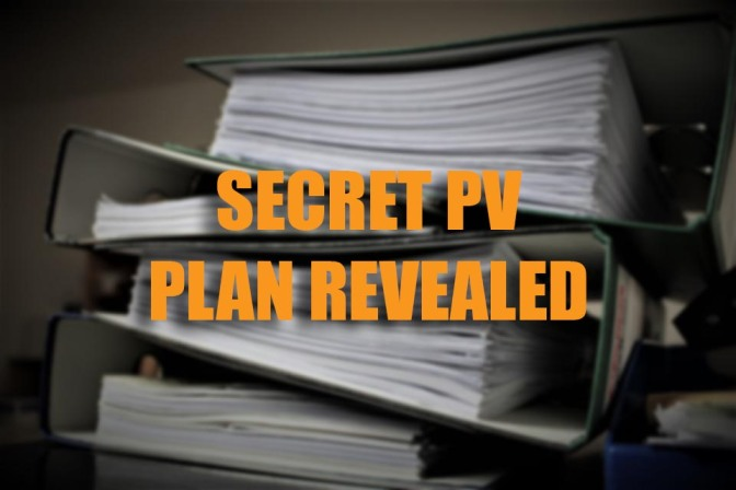 Secret PV Plan Revealed.  FOI Doc Says No Climbing in SPAs Permanently