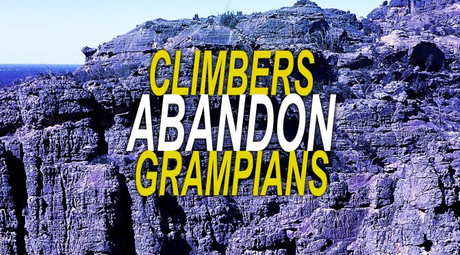 Grampians Climbing in Decline – We Have the Figures