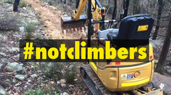#notclimbers – PV's Double Standards for Environmental Destruction