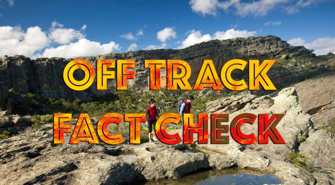 Off Track – Fact checking VNPA's Fiction