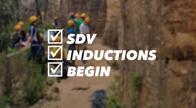 SDV LTO Inductions Begin