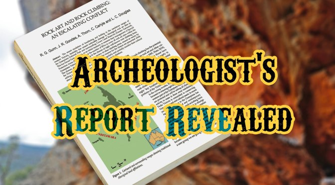 Archeologist's Report Revealed